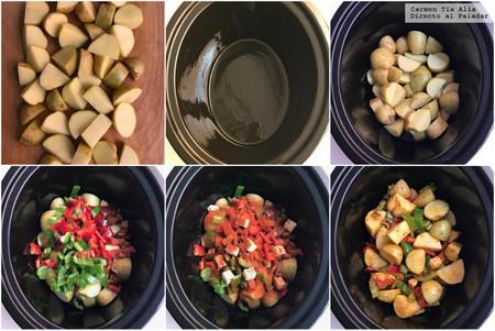 Paso A Paso Patatas En Crock Pot
