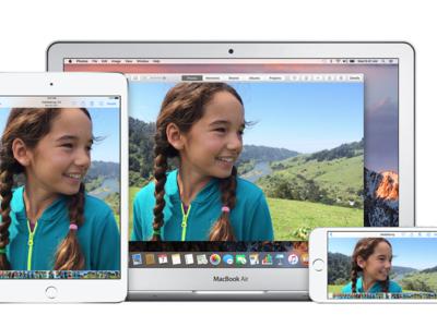 La versión web de iCloud Fotos se actualiza por completo e incluso es compatible con Touch Bar