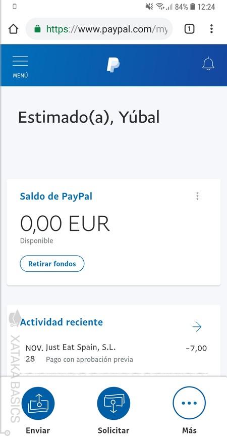 Webapp Paypal