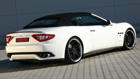 Maserati GranCabrio por Novitec Tridente