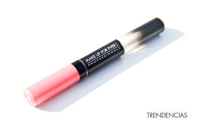 Probamos el Aqua Rouge de Make Up For Ever, un labial con un resultado sorprendente