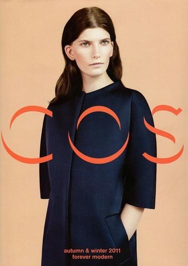 Me llamo COS y me apellido Sencillo. Catálogo Otoño-Invierno 2011/2012