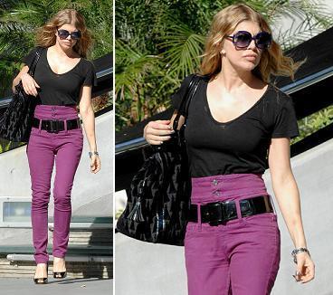 ¿Qué os parece el look de Fergie?