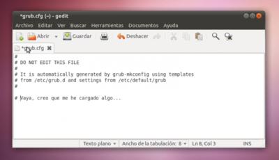 Cómo restaurar GRUB con un Live CD de Linux