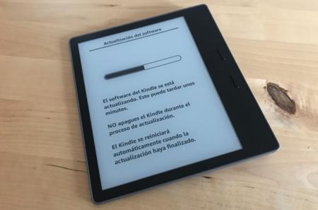 Kindle Oasis Update