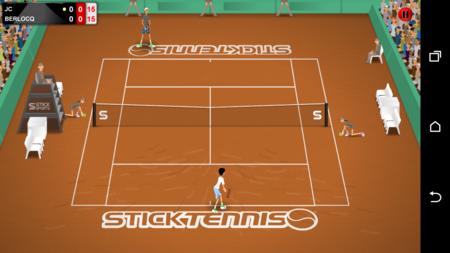 Stick Tennis Tour, un sencillo juego para jugar al tenis sin complicarse