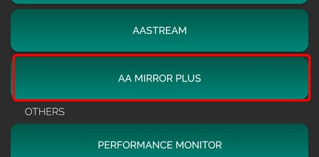 Aa Mirror Plus Android™ Auto