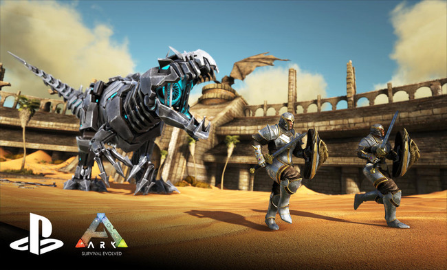 Ark Survival Evolved Ps4 01