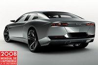 El Lamborghini Estoque se muestra por fin al completo
