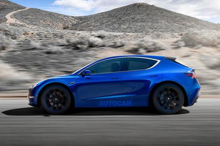 Tesla Hatchback Render Final 2020