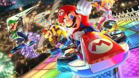 Portada de Mario Kart Deluxe 8