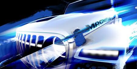 Magneto podría ser el nombre que reciba el nuevo Jeep Wrangler eléctrico