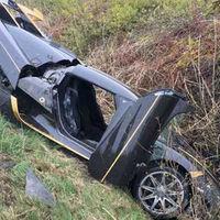 Dolorpasión™: Un Koenigsegg que Agera RS terminó en un zanja