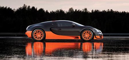 Bugatti anuncia el desarrollo de un Bugatti Veyron híbrido