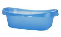 Bañerita de plástico, buena opción para cuando el bebé crece