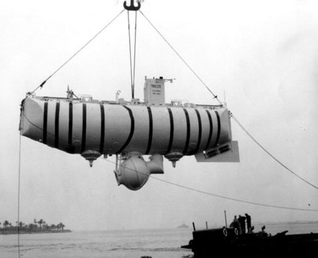 La inmersión más profunda en el océano tuvo lugar en 1960