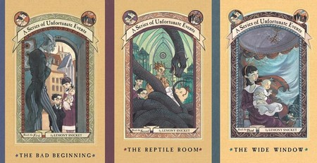 Series Unfortunate Events First Three Books
