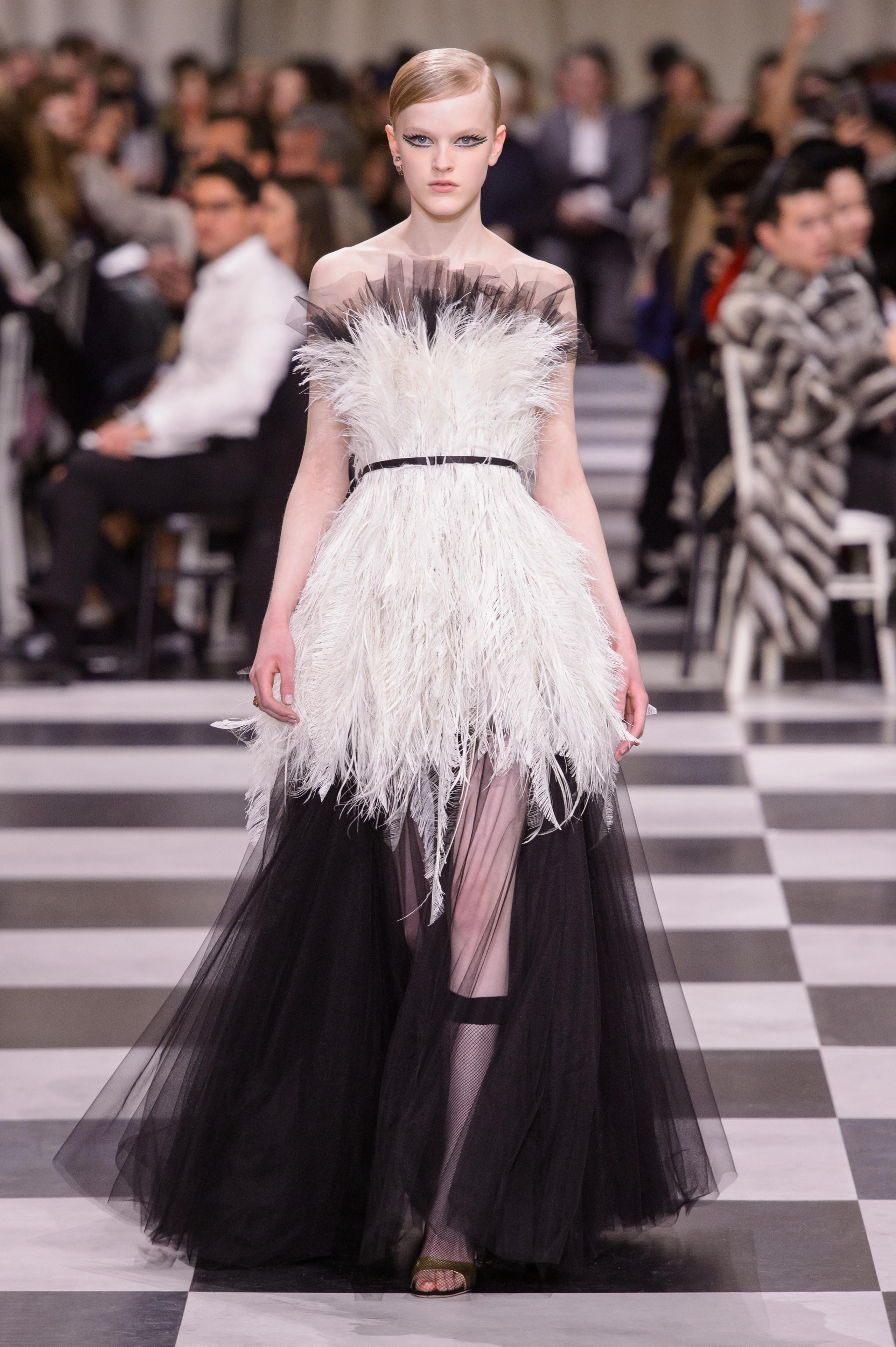 Foto de Dior Alta Costura: Maria Grazia Chiuri y su mágico desfile en blanco y negro Primavera-Verano 2018 (34/74)