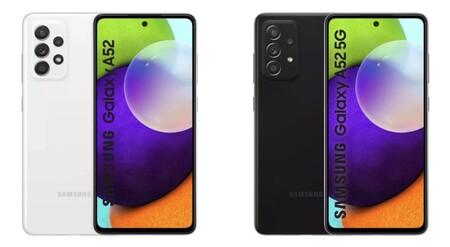 Los Samsung Galaxy A52 4G, Galaxy A52 5G y Galaxy A72 sin secretos: filtración masiva de las dos próximas gamas medias