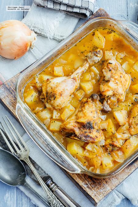 Pollo al horno con jitomate, enchiladas rellenas y más en Directo al Paladar México