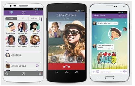 Viber ahora es compatible con Android Wear y más