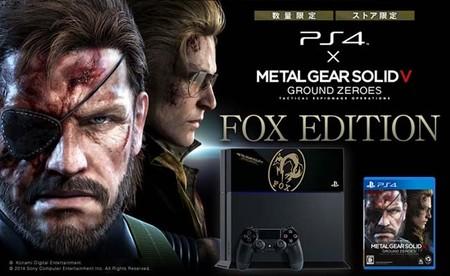 Sony anuncia PS4 especial de Metal Gear Solid V: Ground Zeroes en Japón