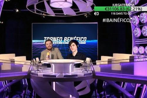 El Torneo Benéfico de Ibai logra más de 35.000 euros para Juegaterapia