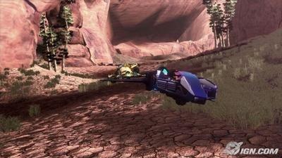 Fatal Inertia, imágenes del juego