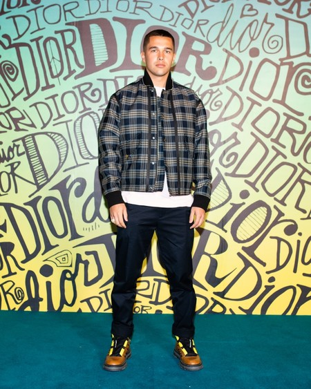 Austin Mahone Dior Fall 2020 3 12 19
