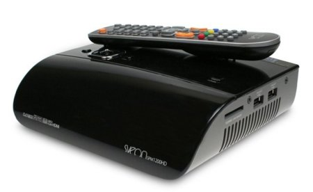 El Sveon SPM1200HD abre la carrera de los reproductores multimedia 3D