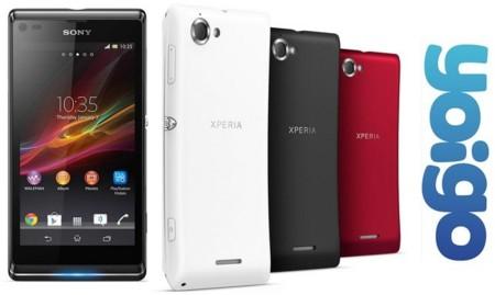 Precios Sony Xperia L con Yoigo y comparativa con la competencia