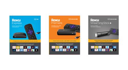 Roku renueva en México su línea Express, Premiere y Streaming Stick+: estos son sus precios