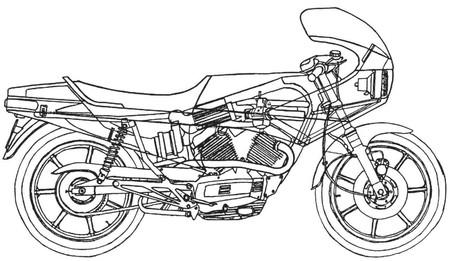Moto Morini Turbo 1