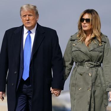 Estas son las tres gabardinas en verde militar (y precio low-cost) que nos ayudarán a recrear el último look de Melania Trump