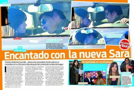 Sara Carbonero, sus nuevas tetas e Iker Casillas, un triángulo amoroso para mear y no echar gota