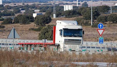 El transporte por carretera en España está gravemente herido