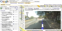 Google Maps nos muestra fotos reales de la carretera