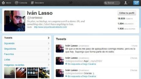 Nuestro perfil en el nuevo Twitter