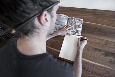 Detalle para la casa de... un dibujante