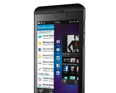 Blackberry Z10 frente a la élite de los smartphones