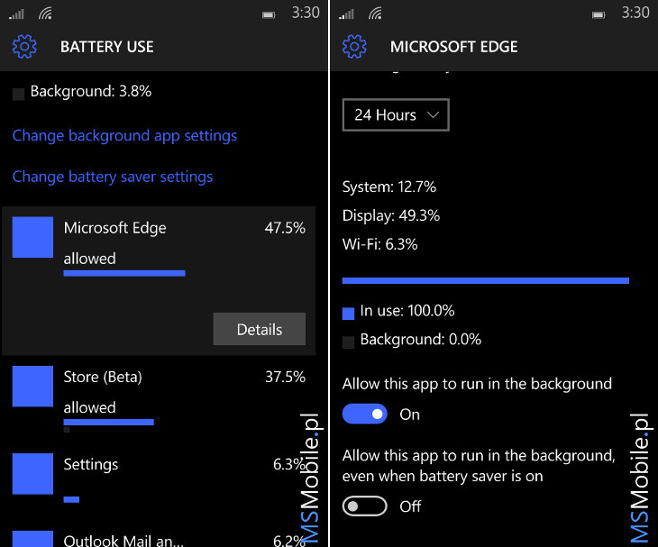 Windows 10 Mobile Build 10149