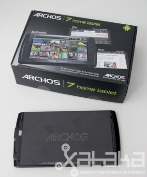 Foto de Archos 7 Home Tablet análisis (5/7)