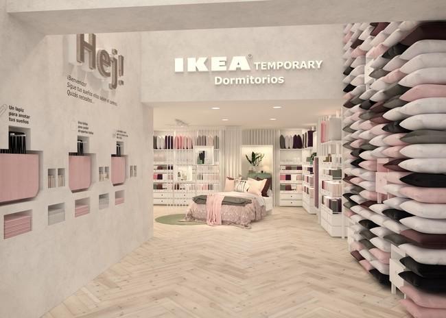 Render Ikea Temporary Dormitorios 1