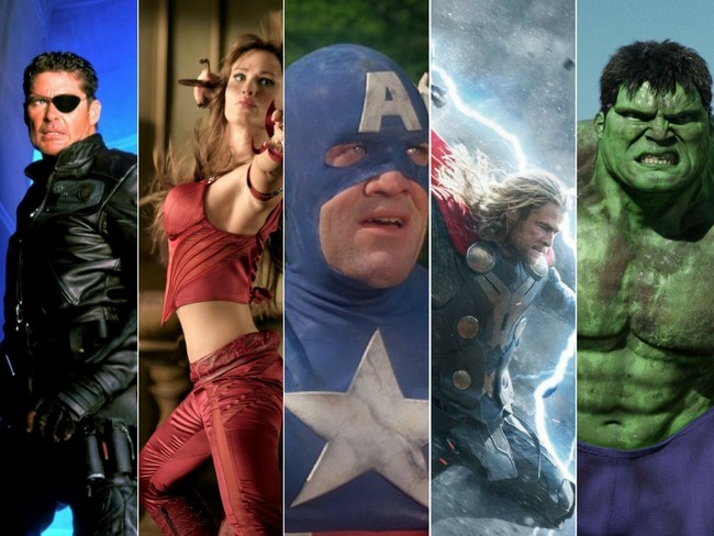 Peores Marvel