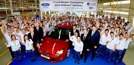 Ford ha alcanzado ya los 350 millones de coches fabricados