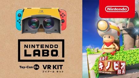 Captain Toad: Treasure Tracker es el nuevo juego de Nintendo Switch en ser compatible con la realidad virtual
