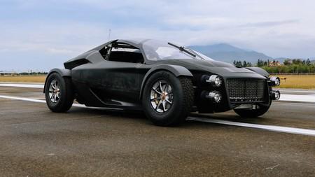 El 'Miss R' es un superdeportivo eléctrico inspirado en rallys que quiere competir con el Tesla Roadster