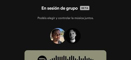 Spotify Sesión Grupo