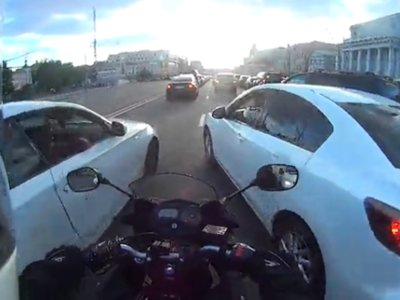Filtrarse entre los coches y su resultado