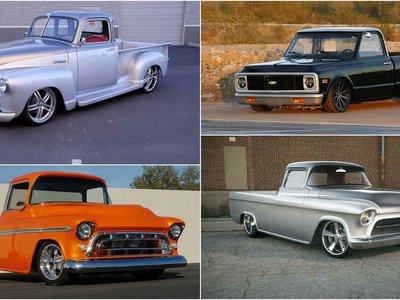 Estas son las nueve camionetas Chevrolet modificadas más caras de la historia